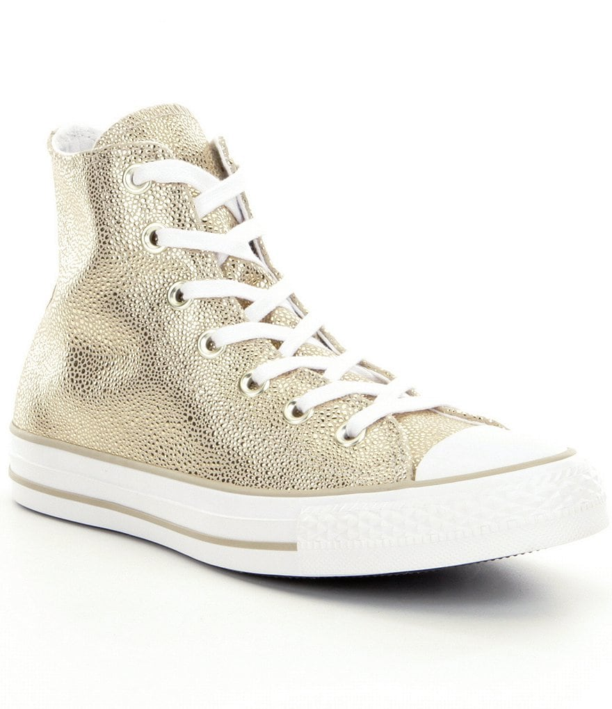 Converse Women´s All Star® Hi-Top Stingray Metallic Sneakers