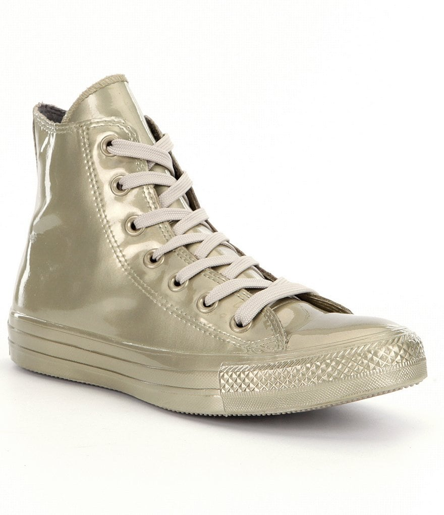 Converse Women´s All Star® Metallic Rubber Hi-Top Sneakers