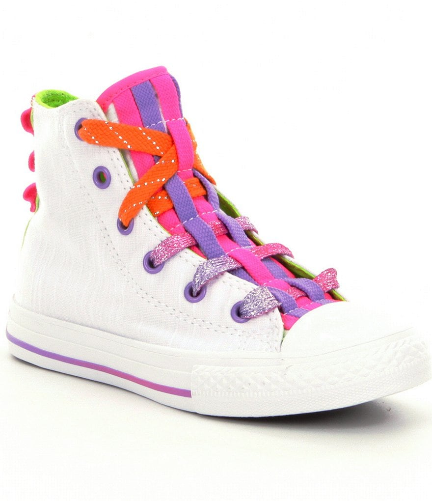 Converse Girls´ Loopholes Hi-Top Sneakers