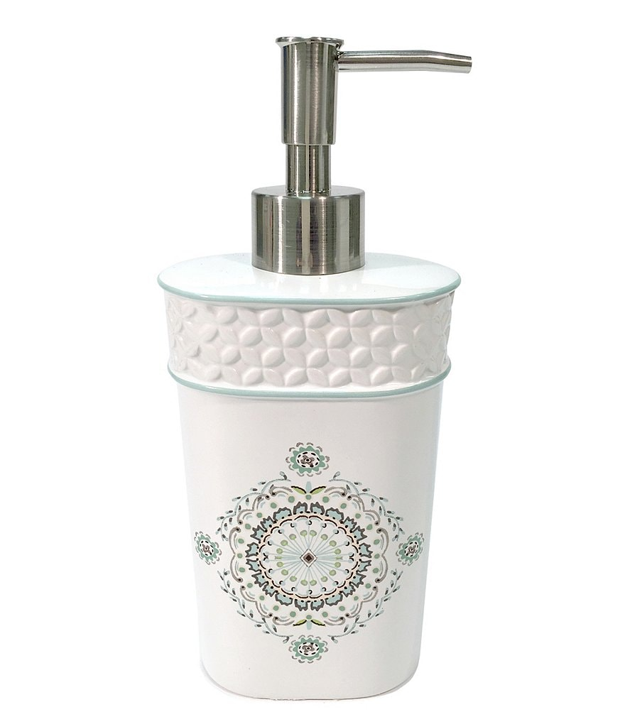 Dena Home Camden Hand Painted Medallion Lotion Dispenser