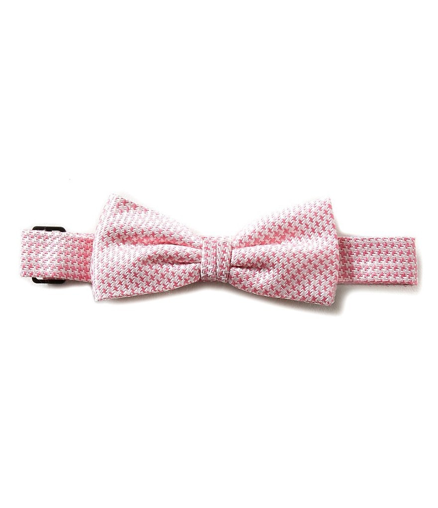 Brooks Brothers 4-20 Mini Houndstooth Print Bow Tie
