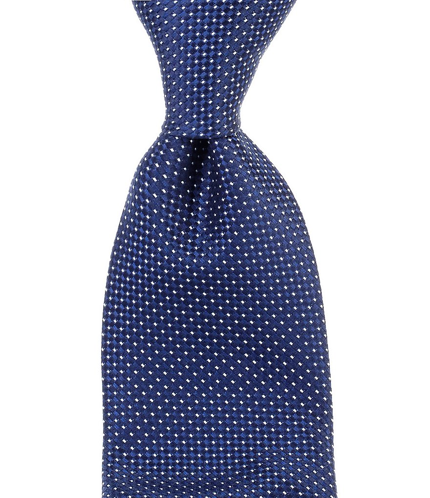 Cremieux Hidden Grid Traditional Silk Tie