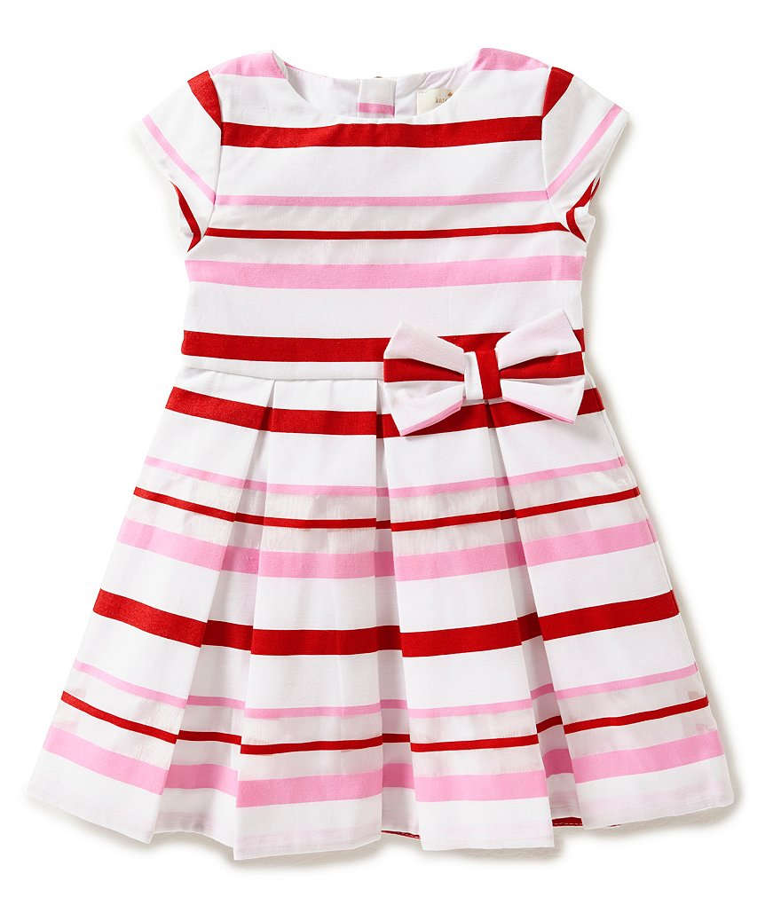 kate spade new york Little Girls 2T-6 Multi Stripe Dress