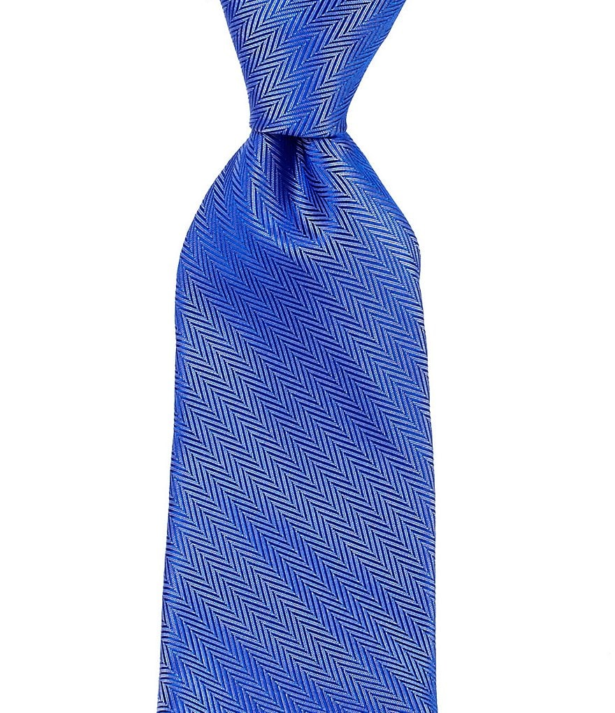 Roundtree & Yorke Trademark Soft Solid Narrow Silk Tie