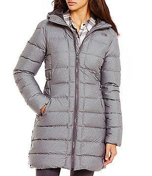 The North Face Gotham Mock Neck Down-Fill Water-Repellent Quilted Parka