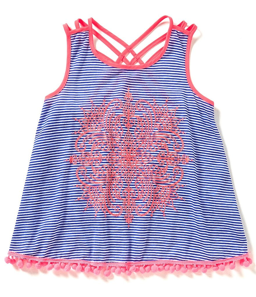 Takara Big Girls 7-16 Screened Lattice Back Tank