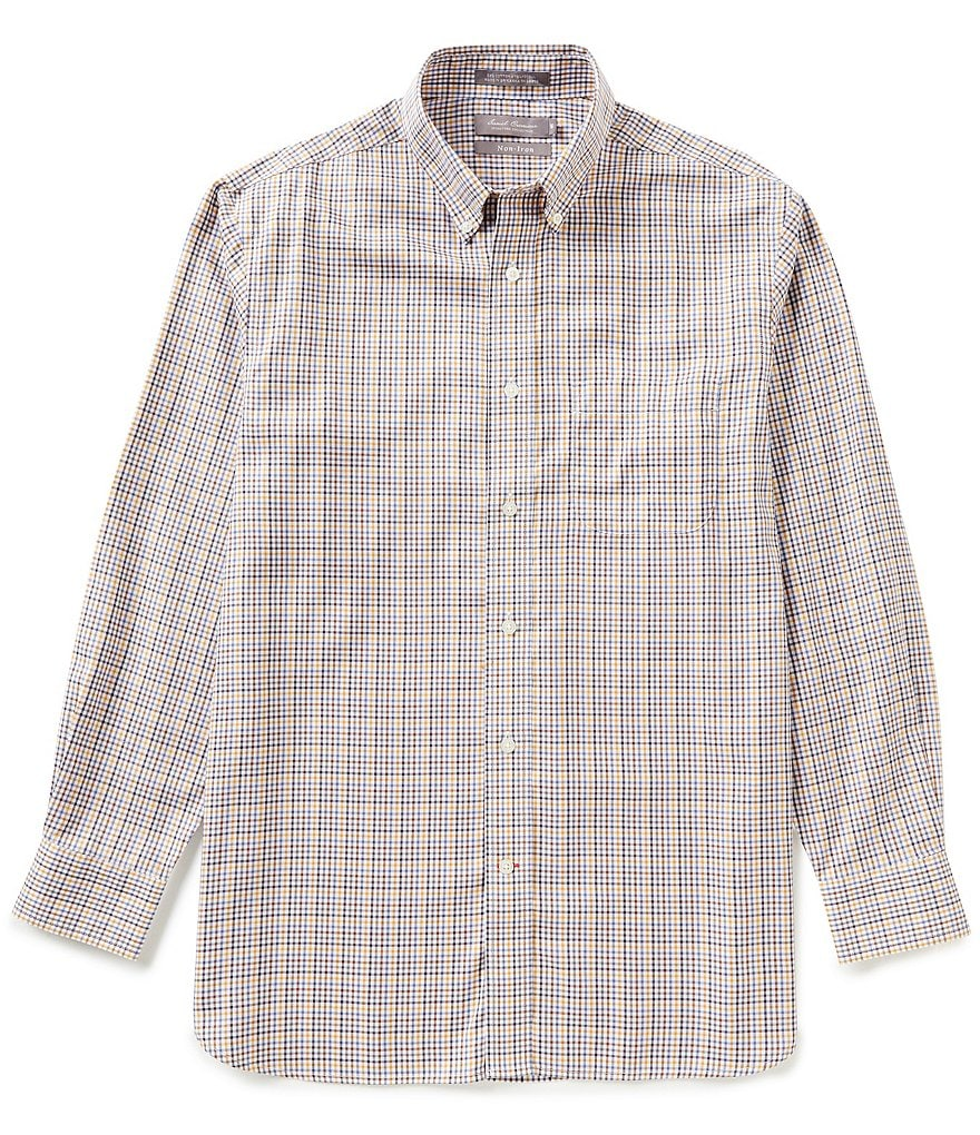 Daniel Cremieux Signature Long-Sleeve Non-Iron Multi-Check Woven Shirt