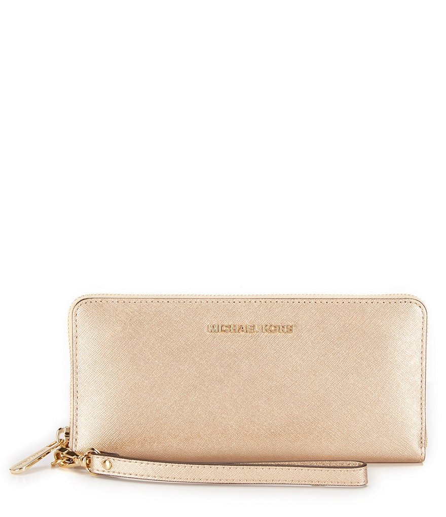 MICHAEL Michael Kors Jet Set Travel Large Flat Multifunction Phone Wallet