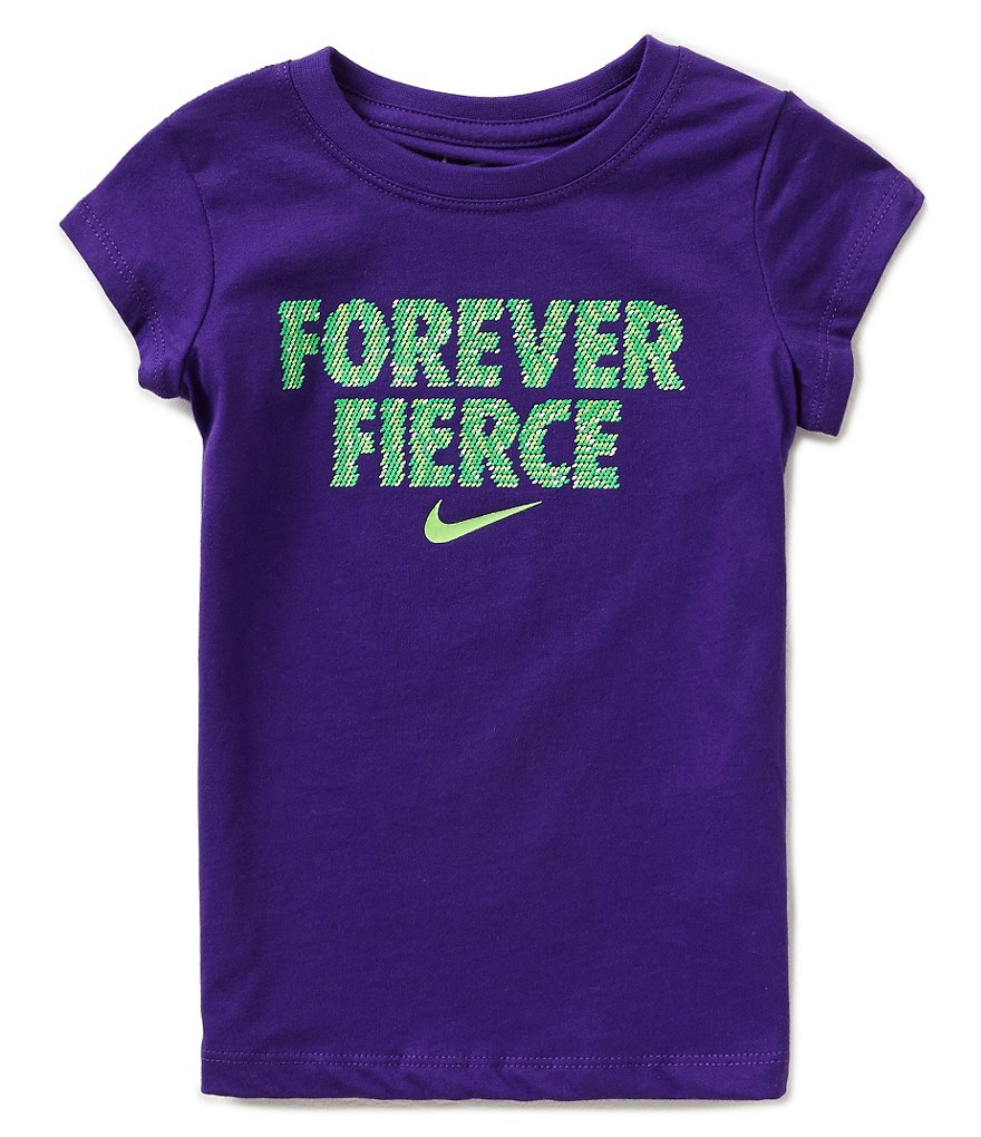 Nike Little Girls 2T-6X Forever Fierce Tee