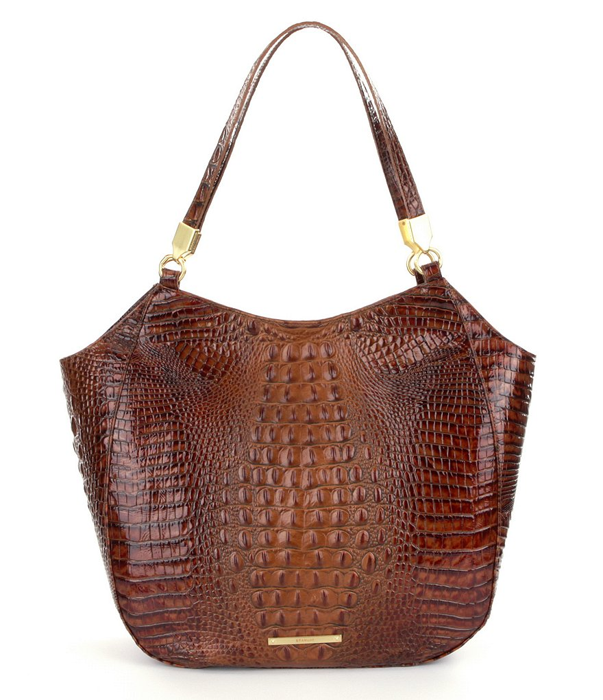 Brahmin Toasted Almond Collection Thelma Tote