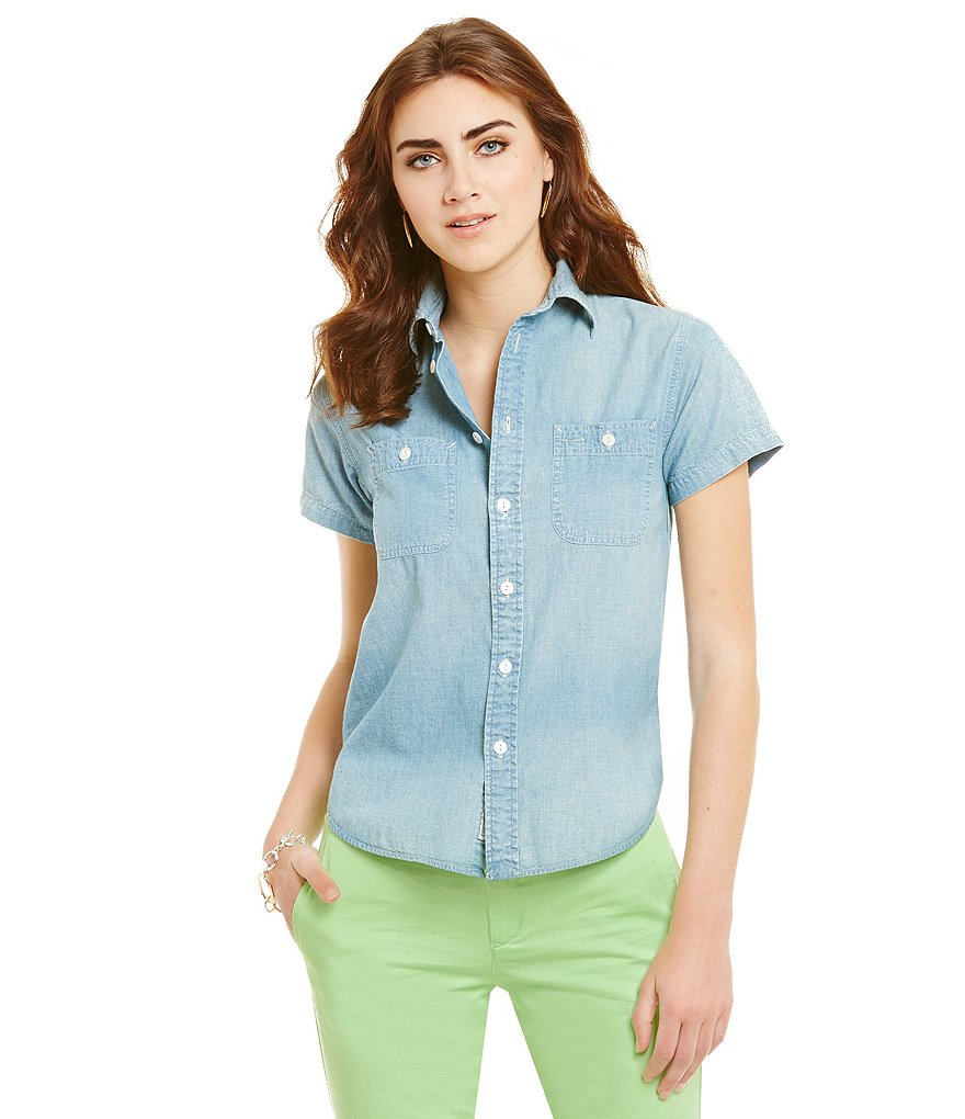 Polo Ralph Lauren Cotton Chambray Shirt