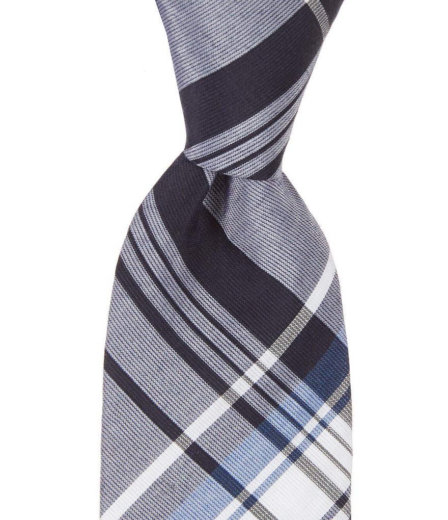 Original Penguin Moros Plaid Skinny Tie