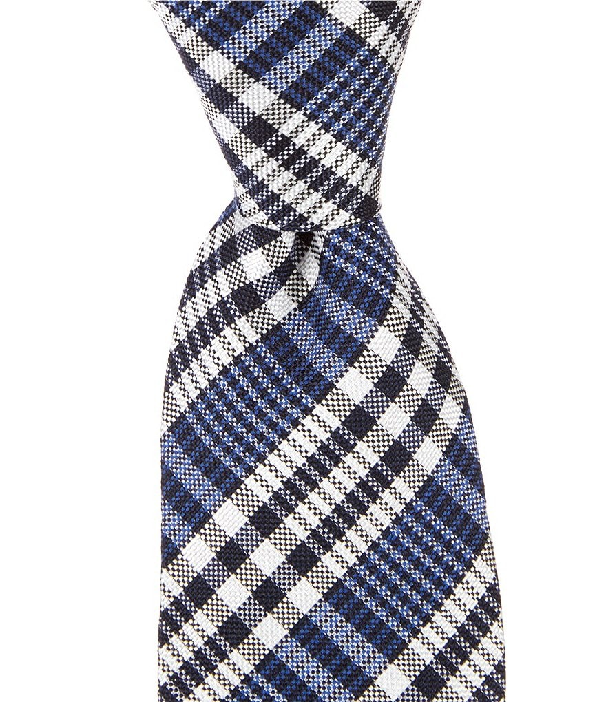 Original Penguin Limos Plaid Skinny Tie