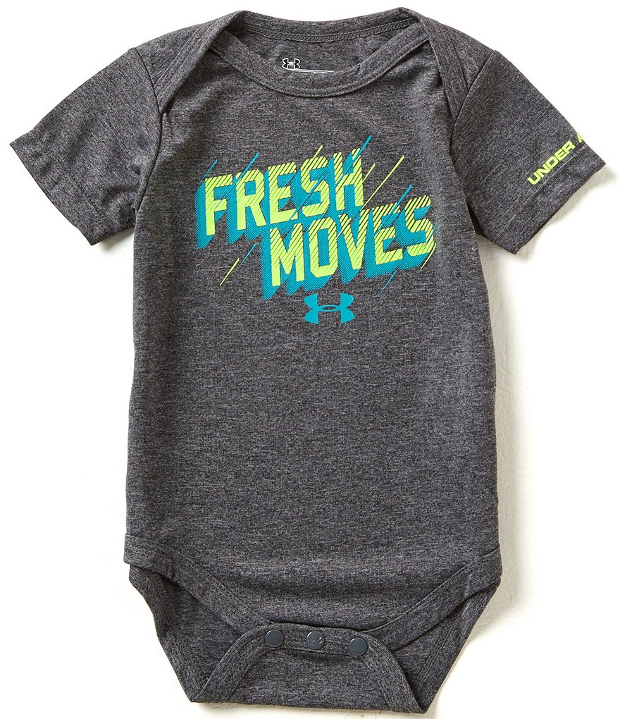 Under Armour Baby Boys Newborn-12 Months Fresh Moves Bodysuit