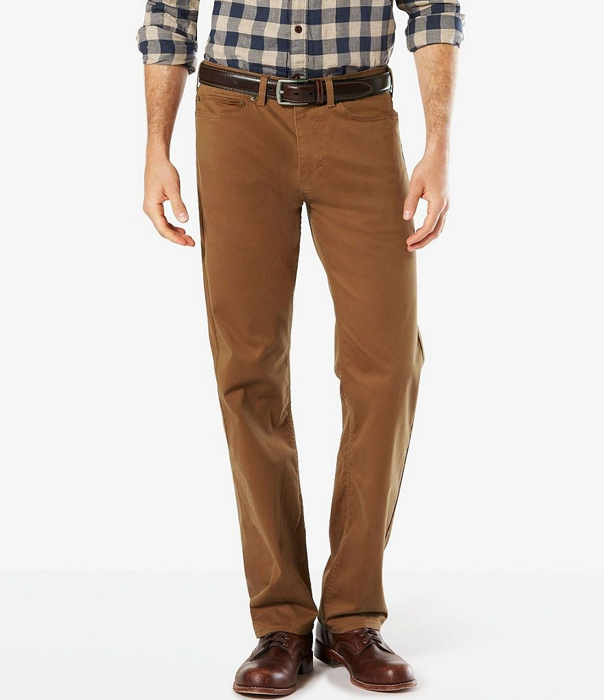 Dockers 5 Pocket Straight Fit Pants