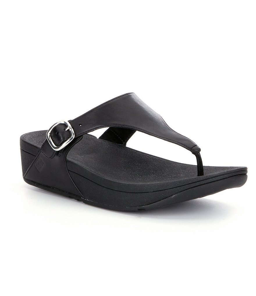 FitFlop The Skinny Leather Thong Style Slip On Sandals