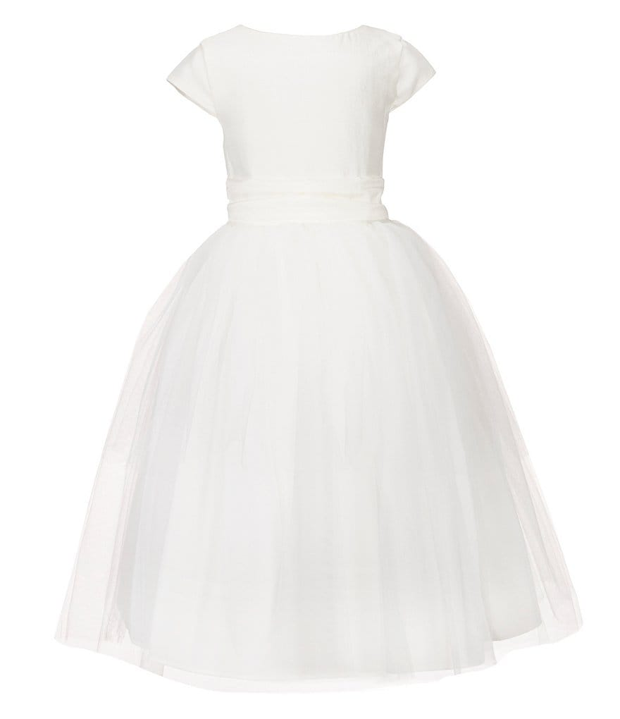 Little Angels by Us Angels Little Girls 2T-6X Cap Sleeve Full Skirt Flower Girl Dress