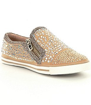 GB Girls Hi-Girl Embellished Slip-On Sneakers