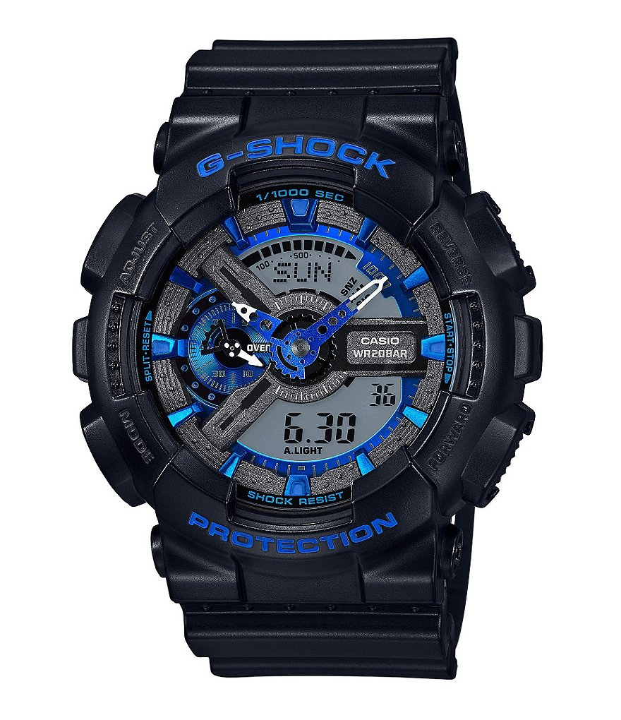 G-Shock Ana-Digi Resin World Time Watch