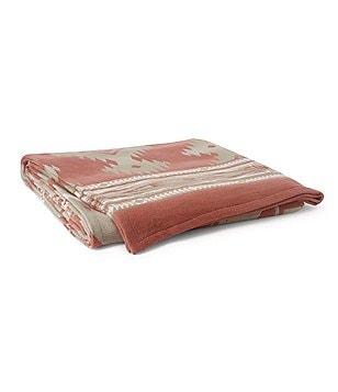 Ralph Lauren Amagansett Collection Southview Southwestern Cotton Bed Blanket