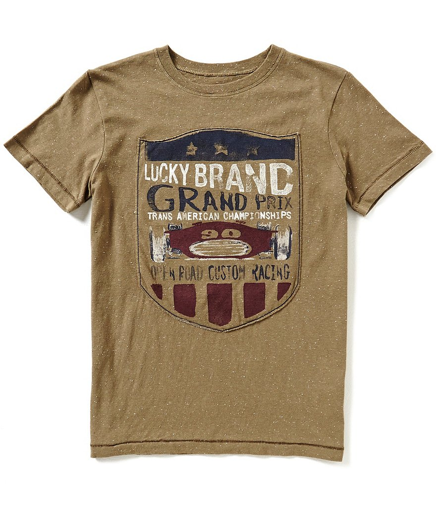Lucky Brand Big Boys 8-20 Champion Short-Sleeve Tee