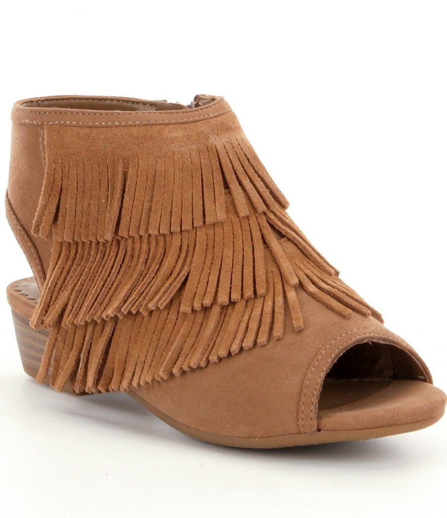 GB Girls Fall Girl Fringe Shooties
