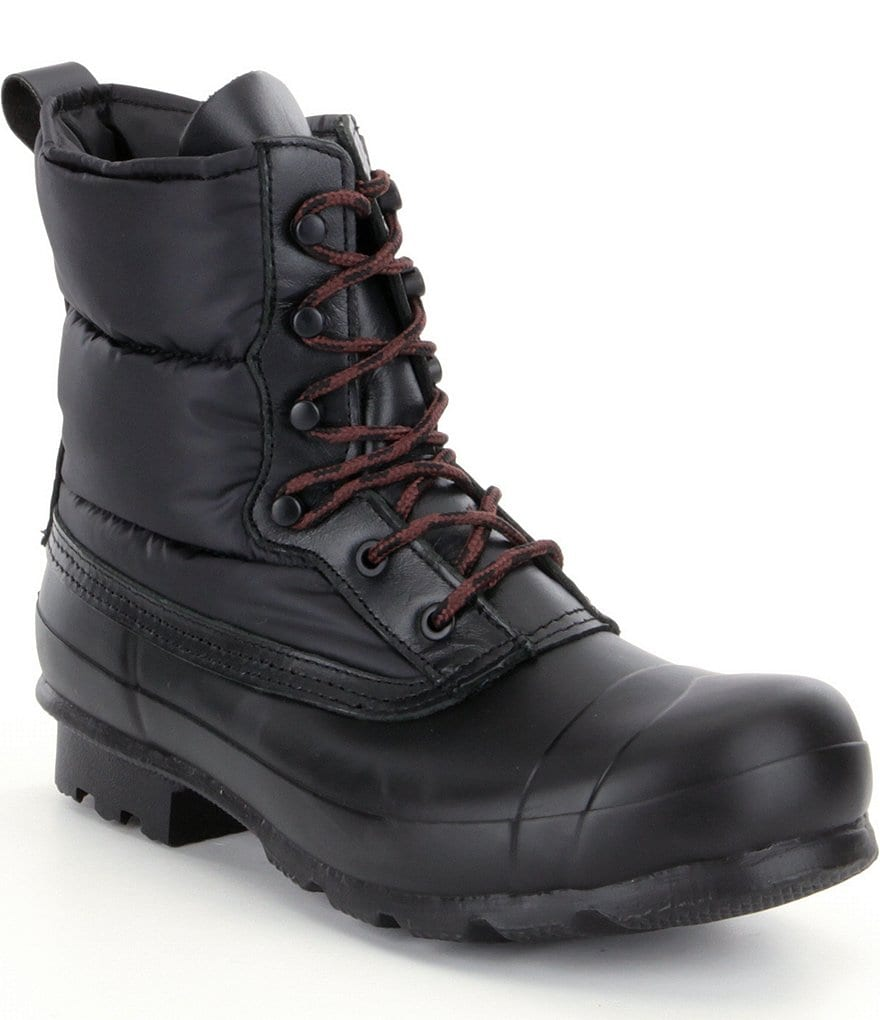Hunter Men´s Quilted Waterproof Lace-Up Boots