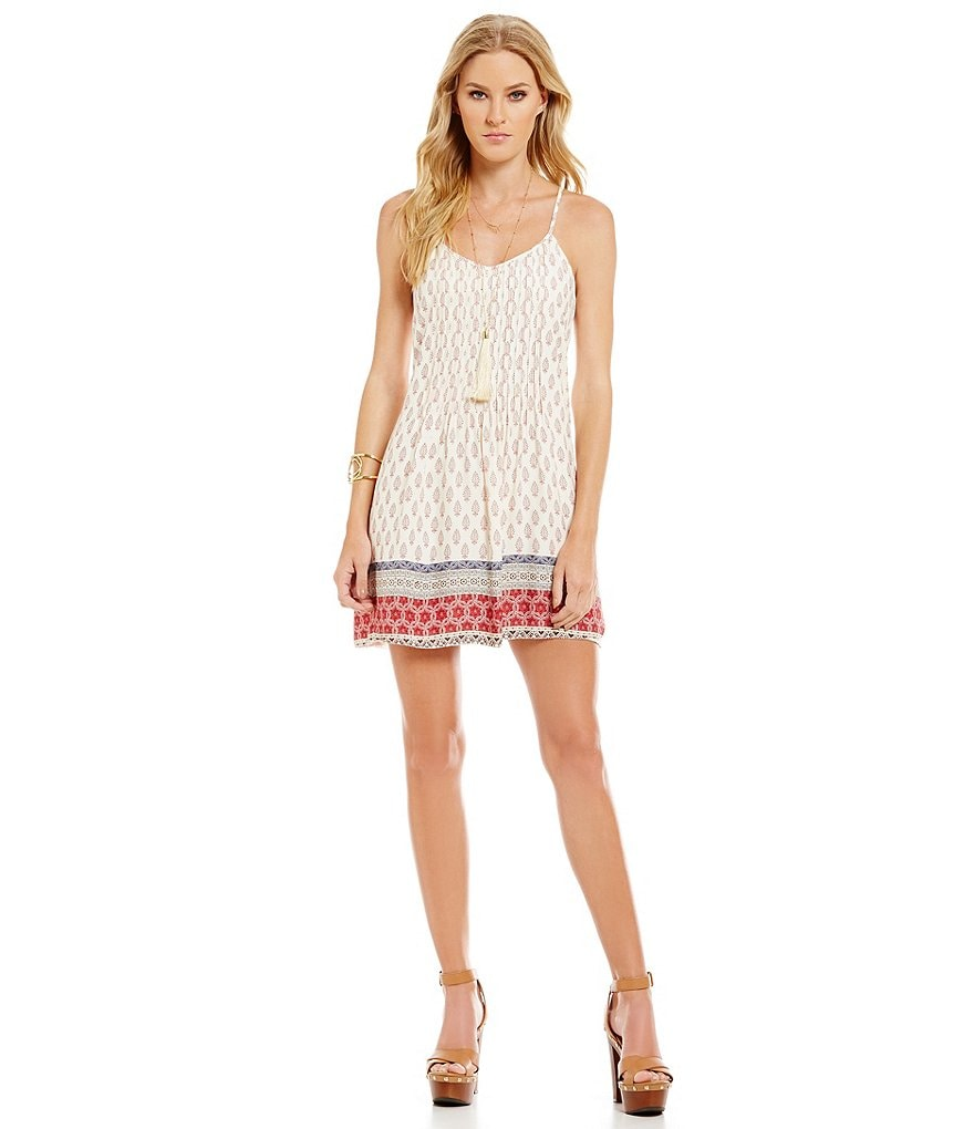 Sanctuary Spring Fling Printed Dress
