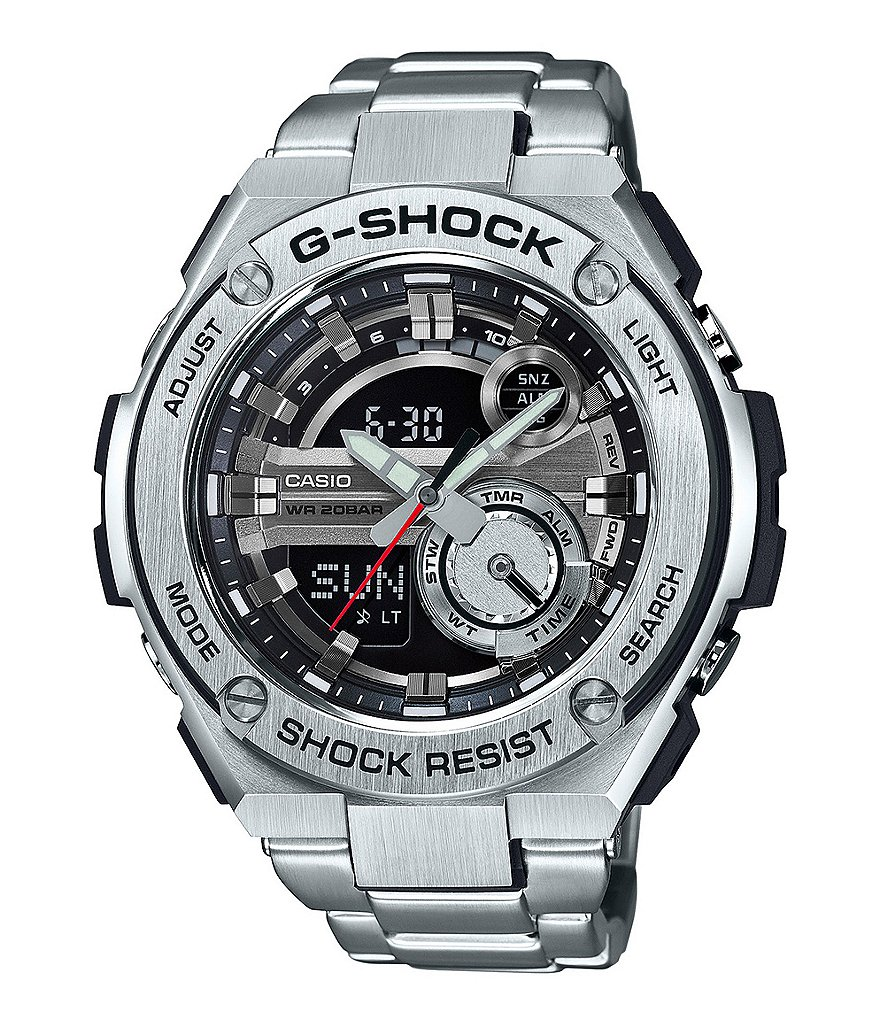 G-Shock G-Steel Ani-Digi Watch