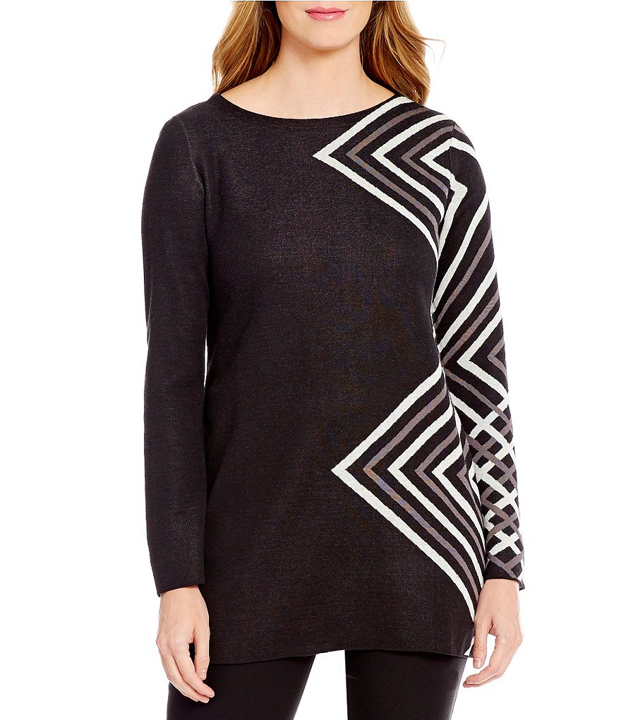 ZOZO Gem Knit Long Sleeve Top