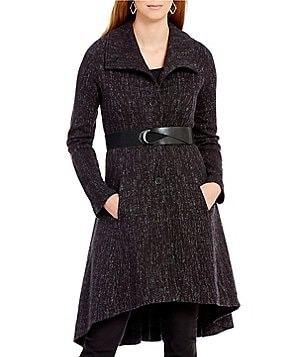 ZOZO Twirl Fit-and-Flare Belted Jacket