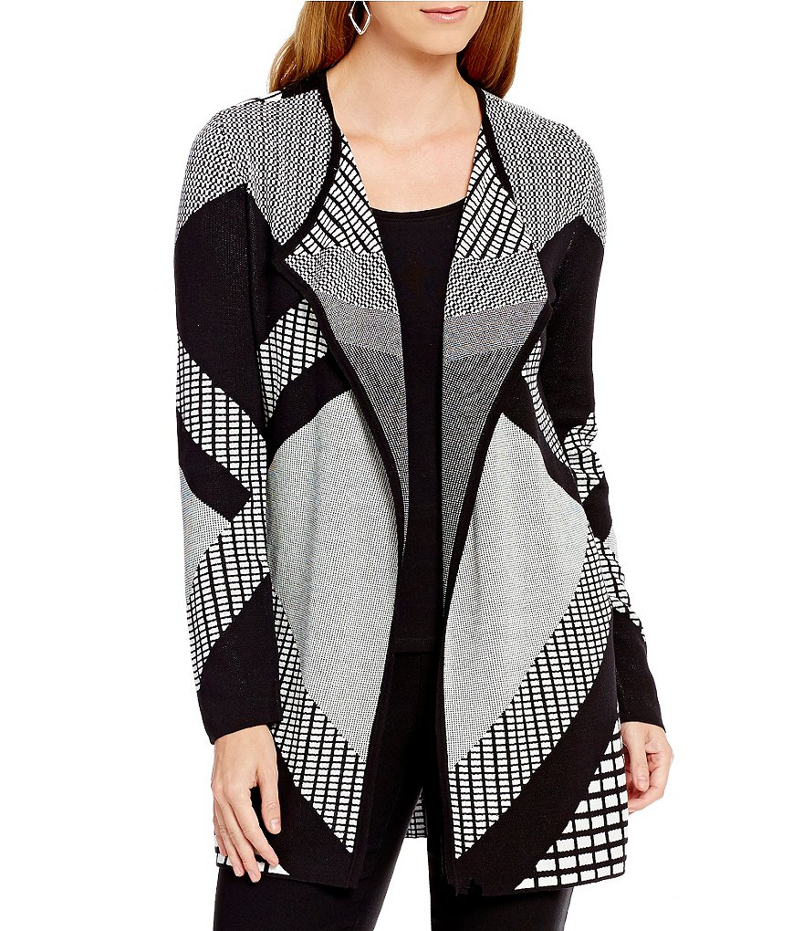ZOZO Terrace Drape Neck Cardigan