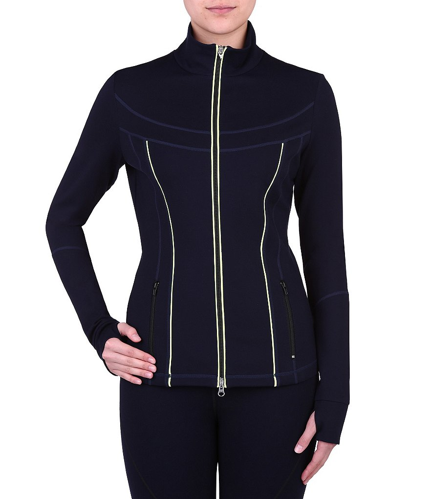 Peter Nygard Performance Zip Front Jacket
