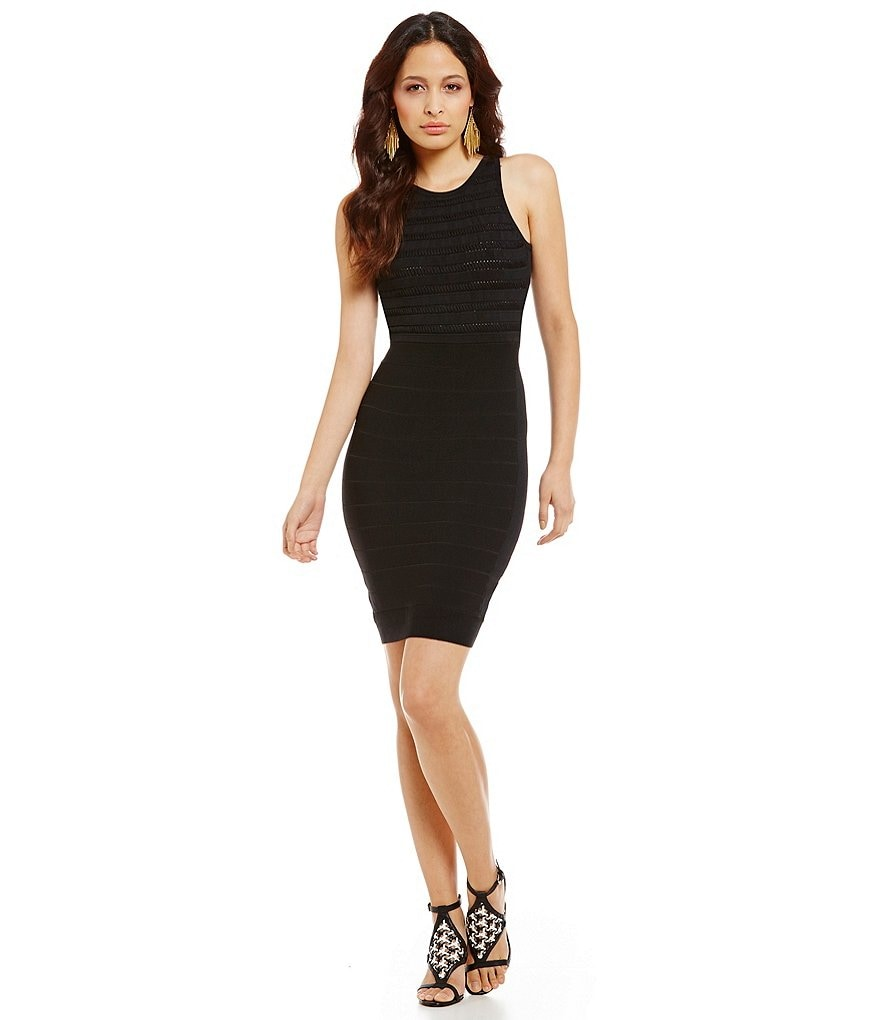 French Connection Beth Crepe Fitted Dress