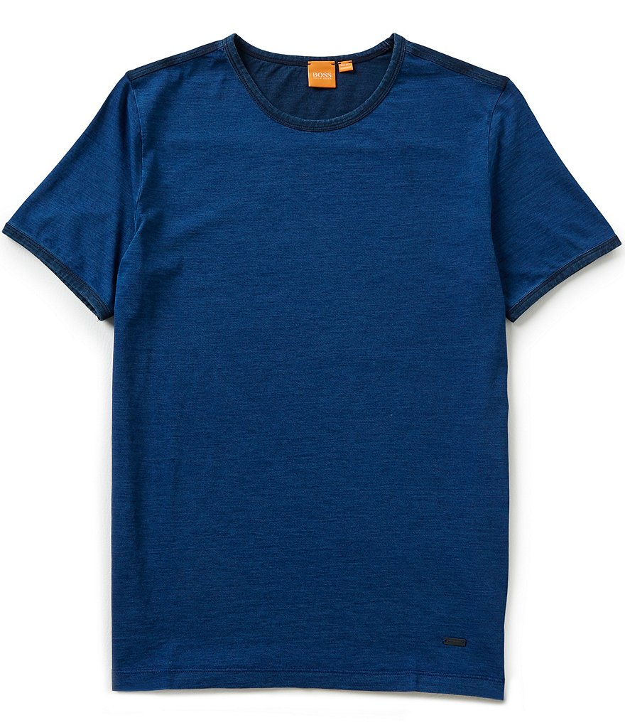 BOSS Orange Short-Sleeve Traveler Crewneck Tee