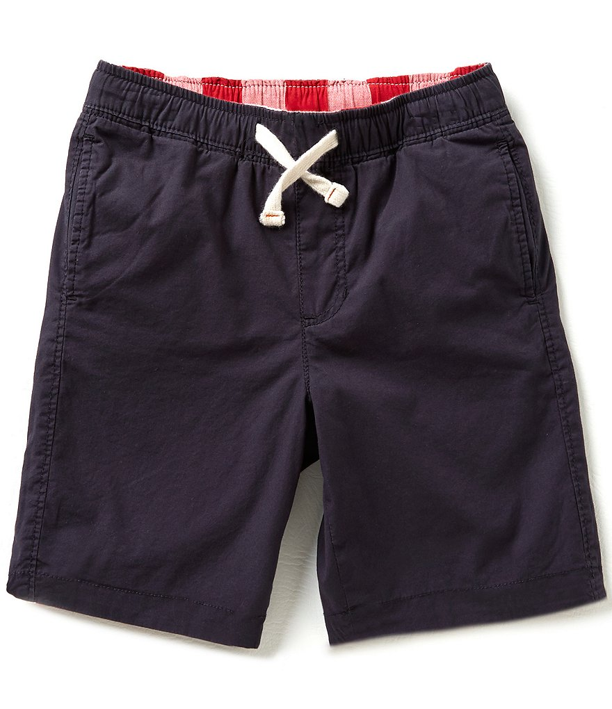 Class Club Big Boys Reversible Plaid Shorts