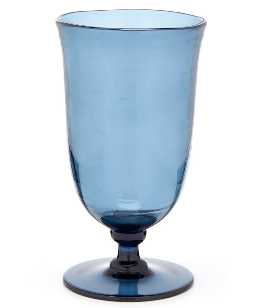 Southern Living Acrylic Footed Iced Tea Goblet