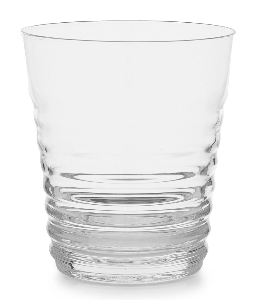 Noble Excellence Moderne Ribbed Double Old Fashioned Glass