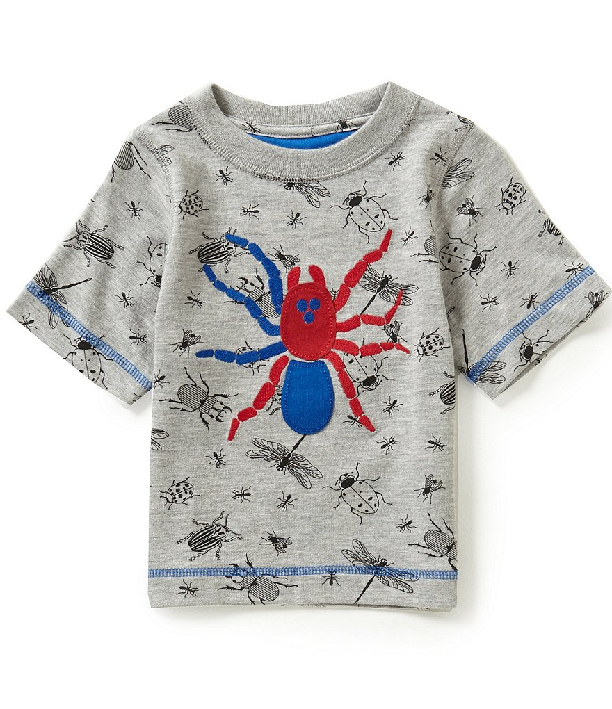 Adventure Wear by Class Club Little Boys 2T-5 Spider-Appliquéd Short-Sleeve Graphic Tee