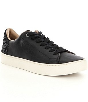 TOMS Men´s Lenox Lightweight Leather Lace-Up Sneakers
