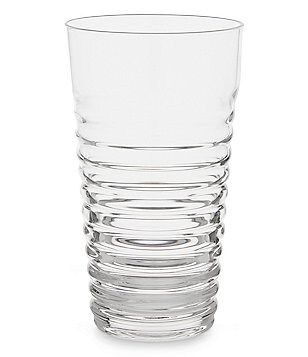 Noble Excellence Moderne Ribbed Soda Lime Highball Glass