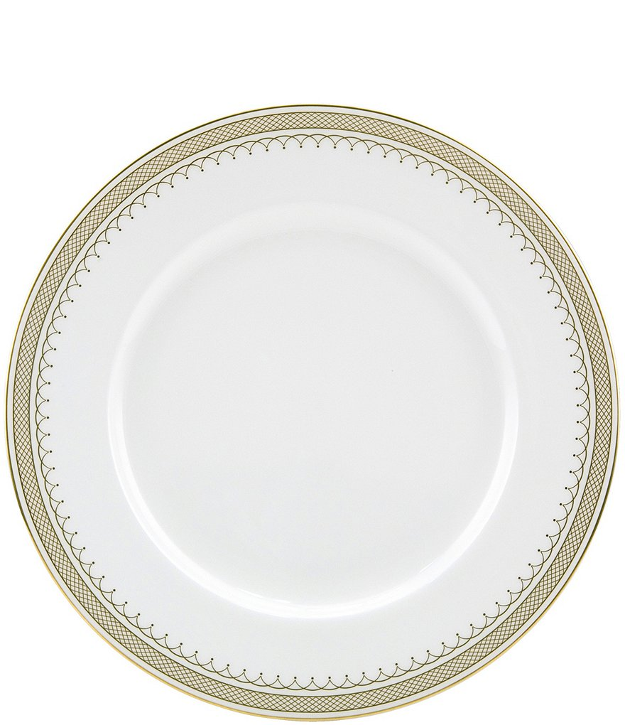 Nikko Lattice Gold Dinner Plate