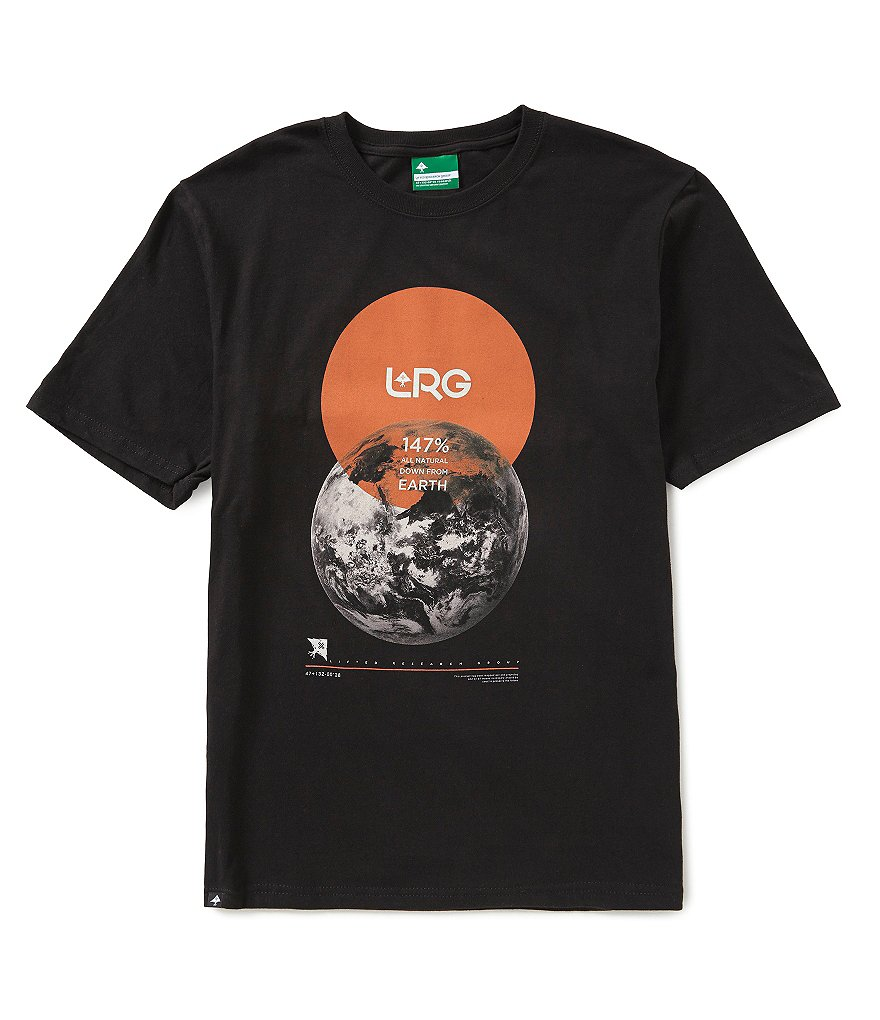 LRG 147 Percent Earth Short-Sleeve Graphic Jersey Tee