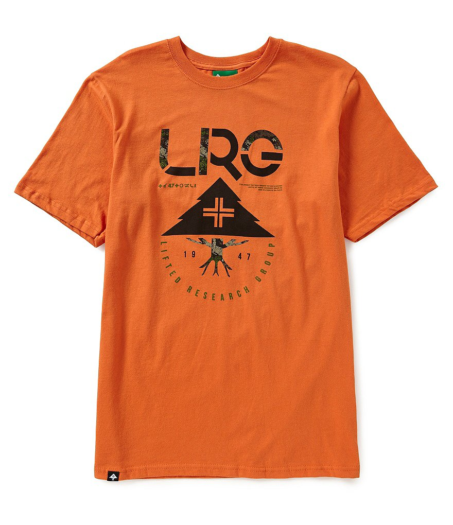 LRG Tiger Tree Short-Sleeve Jersey Graphic Tee