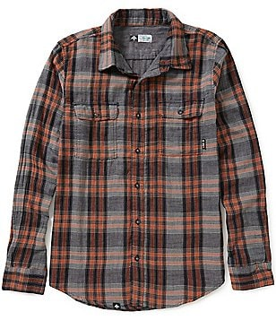 LRG Two Face Plaid Long-Sleeve Woven Shirt