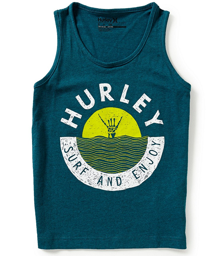 Hurley Big Boys 8-20 Enjoy Tank Top