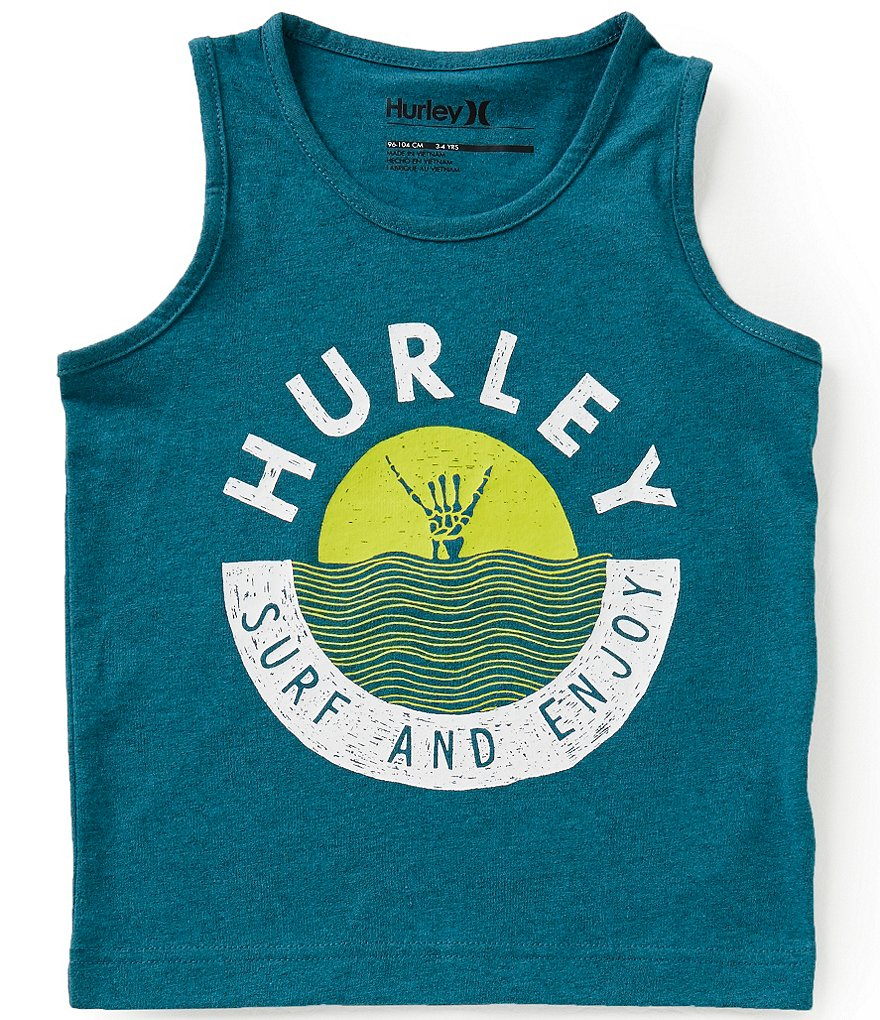 Hurley Little Boys 4-7 Enjoy Tank Top