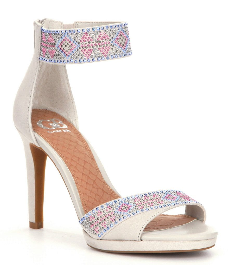 GB Spring-Dance Beaded Dress Sandals