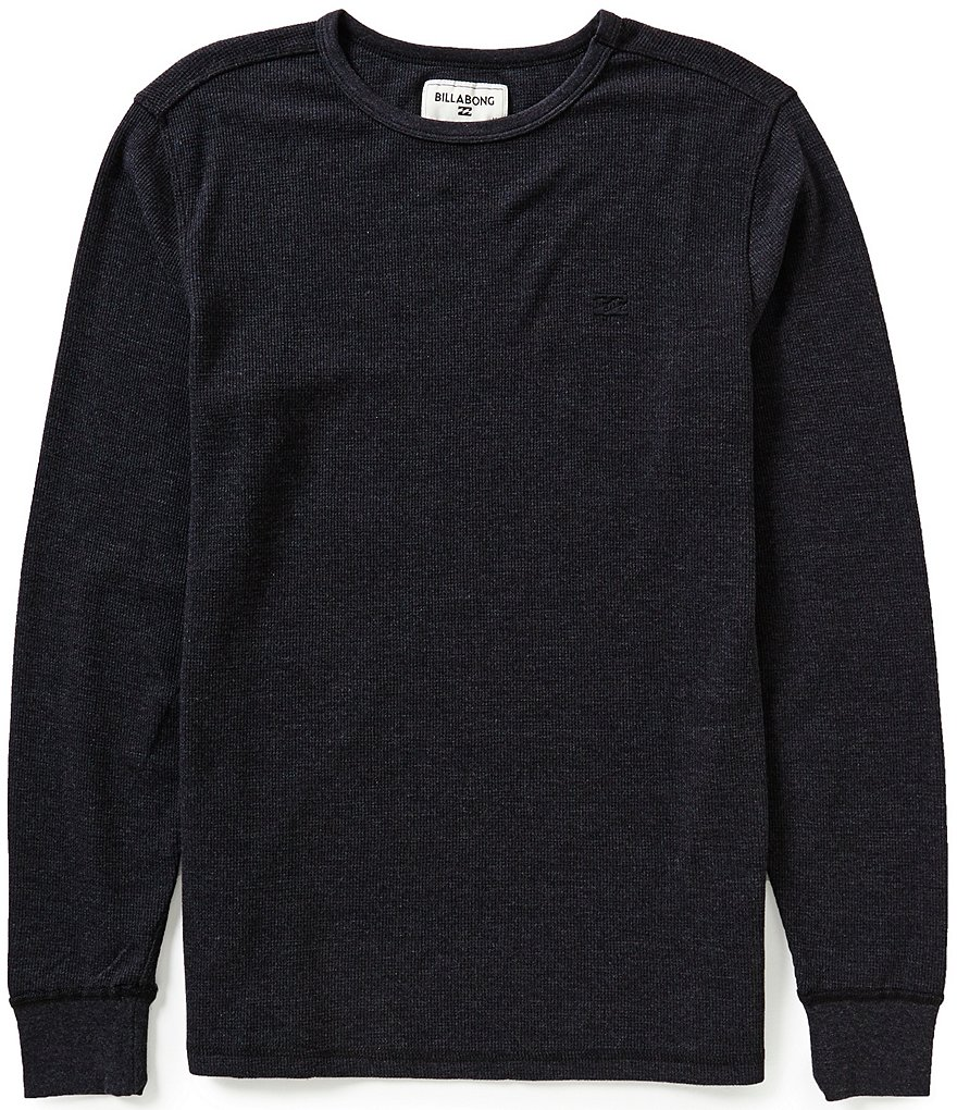 Billabong Essential Long-Sleeve Waffle-Knit Thermal Tee