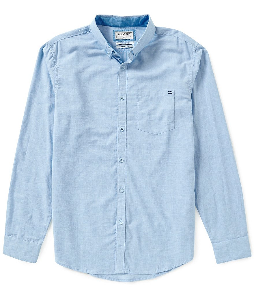 Billabong All Day Chambray Long-Sleeve Woven Shirt